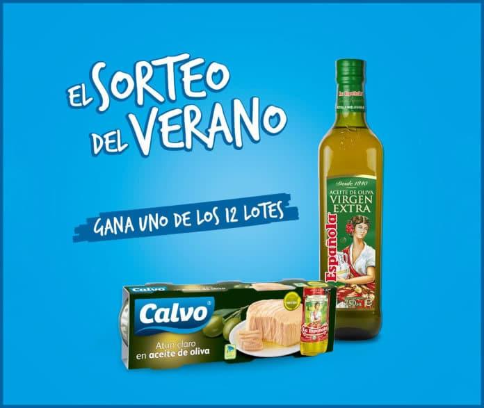 Sorteo de 24 lotes de Calvo enlatado