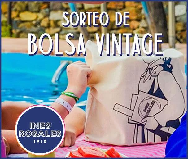 Inés Rosales saca 100 bolsas y lotes