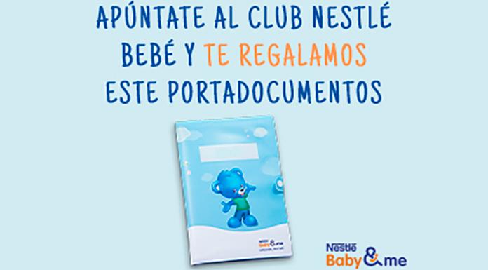 Muestras gratuitas para bebés con Nestlé Baby Club