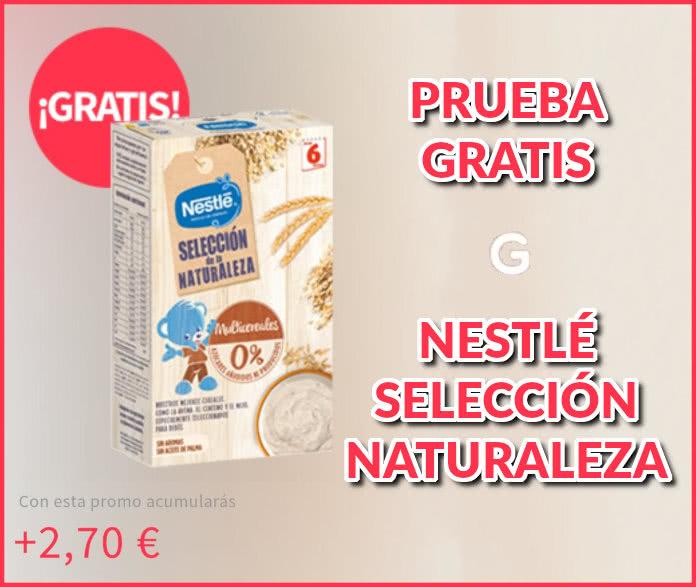 Gelt Prueba gratuita Nestlé Nature Selection Gachas