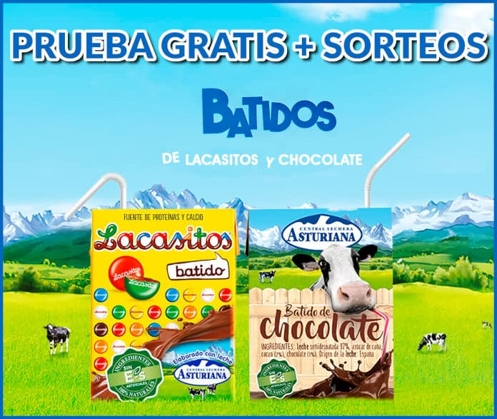 Smoothies Natural Influencer Lechera Asturiana Centrale