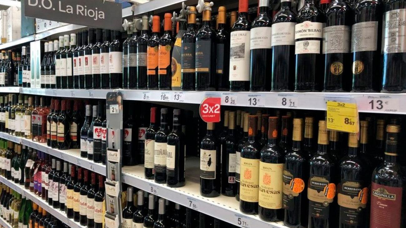 Ofertas de vinos Carrefour