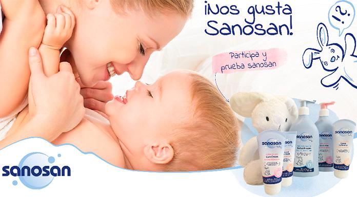Obtenga un lote de productos Sanosan