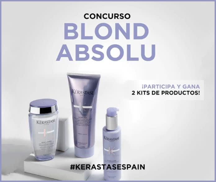 Sorteo Kérastase Blond Absolu septiembre 2020
