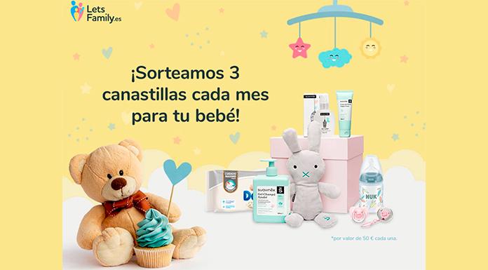 Let & # 39; s Family está regalando 3 canastas para su bebé por mes