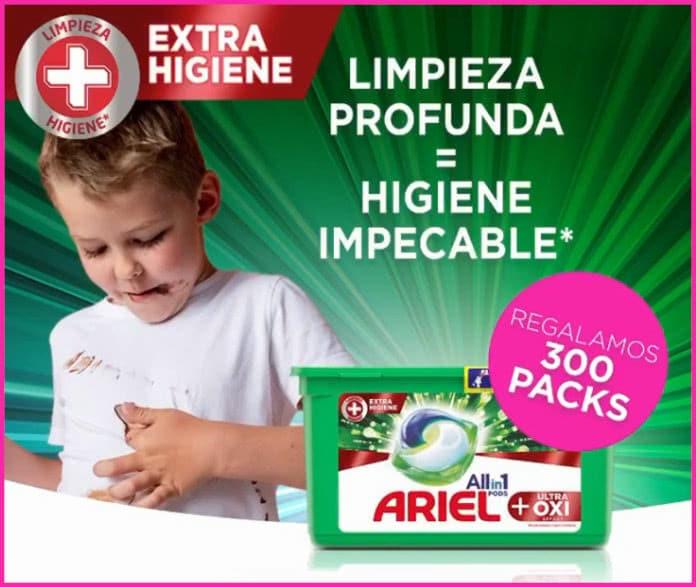Lotería Proximaati 300 paquetes Ariel Oxi