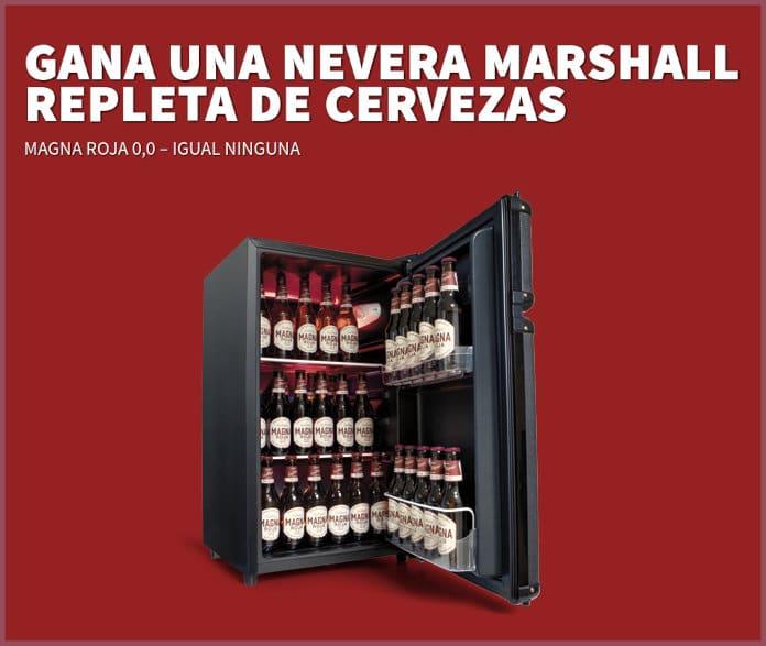 Sorteo de refrigerador Magna Roja Marshall