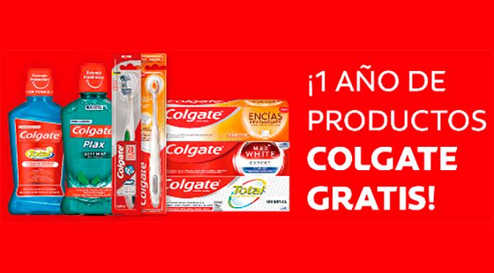 Todos los días regalan 1 año de productos Colgate gratis