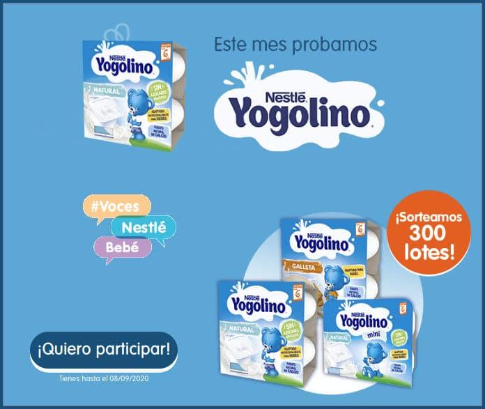 Artículos gratis Nestle Bebe 300 Yogolinos