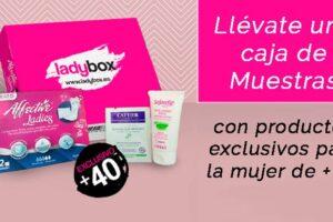 Caja de muestras gratis LadyBox