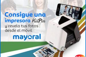 Mayoral sortea 10 impresoras fotográficas para el móvil Kiipix. – Regalos y Muestras gratis