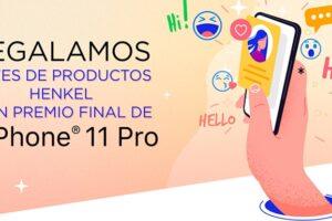 Regalan un smartphone y lotes de productos Henkel