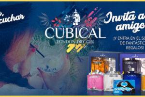 Sorteo de 2 botellas de Gin Cubical y una tarjeta Ticketmaster con 200€ – Regalos y Muestras gratis