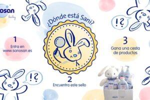 Sorteo de un lote productos para la higiene y cuidados del bebé Sanosan