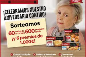 La Cocinera sortea 600 productos, 60 cestas de compra y 6 premios de 1.000€ – Regalos y Muestras gratis