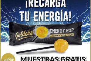 Muestras Gratis de los Caramelos Energéticos Golders – Regalos y Muestras gratis