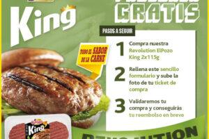 2.500 reembolsos para Burger Revolution – Regalos y Muestras gratis