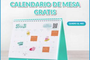 Calendario de Mesa Gratis – Regalos y Muestras gratis