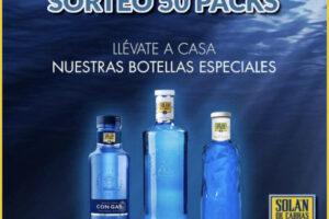 Aguas Solán de Cabras sortea 50 packs – Regalos y Muestras gratis