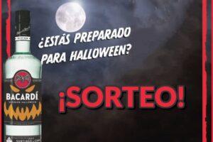 Bacardi sortea 3 botellas edición especial Halloween – Regalos y Muestras gratis