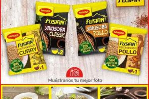 Kuvut busca 500 probadores para Fusian Noodles de Maggi – Regalos y Muestras gratis
