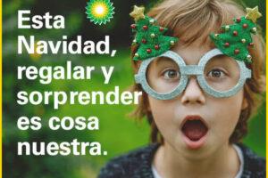 BP es tu amigo visible esta Navidad – Regalos y Muestras gratis
