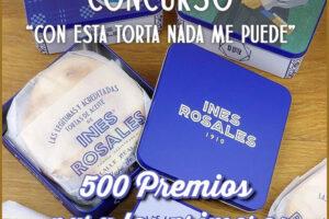 500 premios Inés Rosales para los primeros – Regalos y Muestras gratis