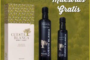 Muestras gratis de aceite de oliva virgen extra Cuesta Blanca – Regalos y Muestras gratis