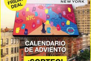 Primor sortea 5 Calendarios de Adviento de Maybelline – Regalos y Muestras gratis