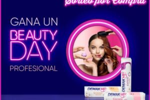 Demak´Up sortea un Beauty Day Profesional – Regalos y Muestras gratis