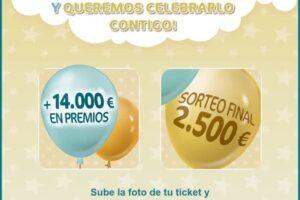 Nestlé sortea 14.000€ en premios al instante y 2.500€ en sorteo final – Regalos y Muestras gratis