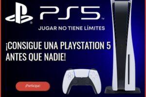 Sony sortea 1 PlayStation 5 – Regalos y Muestras gratis