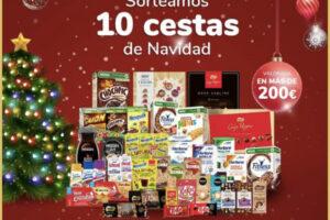 Nestlé sortea 10 cestas de Navidad – Regalos y Muestras gratis