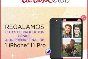 Tu Casa Club sortea 62 lotes y 1 iPhone 11 Pro – Regalos y Muestras gratis