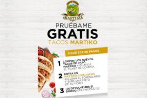 Prueba gratis Tacos Martiko – Muestras Gratis Y Chollos