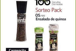 Carmencita Especias Sortea 10 packs de especias (último día) – Regalos y Muestras gratis