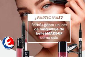 Eroski sortea 9 lotes de maquillaje Belle&MakeUP – Regalos y Muestras gratis