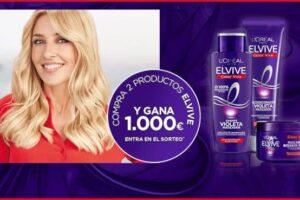 Elvive sortea 5 cheques de 1.000€ – Regalos y Muestras gratis