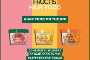 Muestras Gratis de Garnier Hairfood – Regalos y Muestras gratis