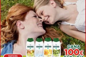 Palmolive sortea 90 premios de 100€ – Regalos y Muestras gratis