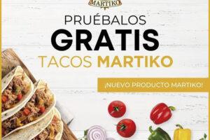 Pruébalo Gratis de los Tacos Martiko – Regalos y Muestras gratis