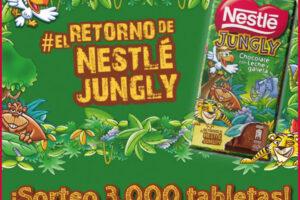 Sorteo de 3.000 tabletas de chocolate Nestlé Jungly – Regalos y Muestras gratis