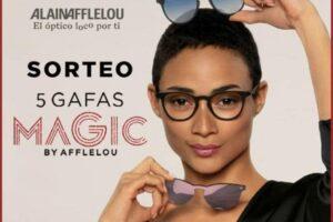 Alain Afflelou sortea 5 gafas de sol Magic + 2 clips – Regalos y Muestras gratis