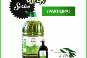 Corona de Olivo sortea 5 litros de aceite de oliva Virgen Extra – Regalos y Muestras gratis