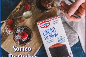 Dr. Oetker sortea 10 unidades de Cacao en Polvo – Regalos y Muestras gratis