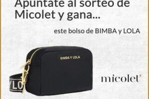 Micolet sortea un bolso de Bimba y Lola – Regalos y Muestras gratis