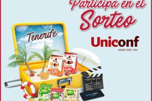 Uniconf sortea viajes a Tenerife, lotes y suscripciones Prime – Regalos y Muestras gratis