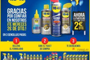 1.222 reembolsos de 2€ para los productos WD-40 – Regalos y Muestras gratis