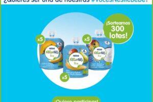 Voces Nestlé Bebé repartirá 300 lotes de Bolsitas Naturnes Bio – Regalos y Muestras gratis