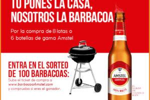 Amstel sortea 100 barbacoas – Regalos y Muestras gratis